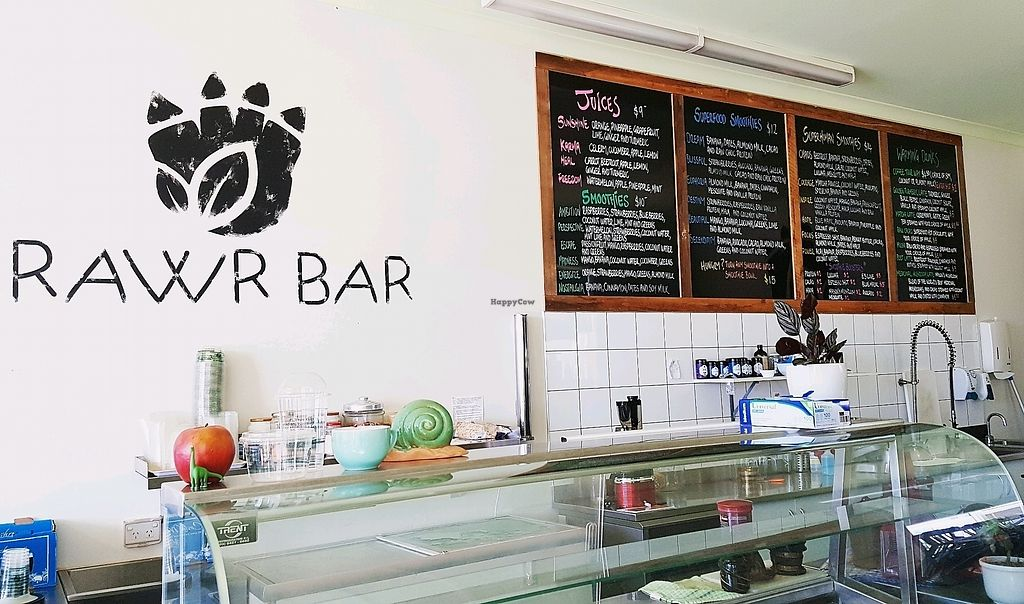 """Photo of RAWR Bar  by <a href=""""/members/profile/RAWRBar"""">RAWRBar</a> <br/>So many smoothie options!  <br/> February 9, 2018  - <a href='/contact/abuse/image/102121/356965'>Report</a>"""