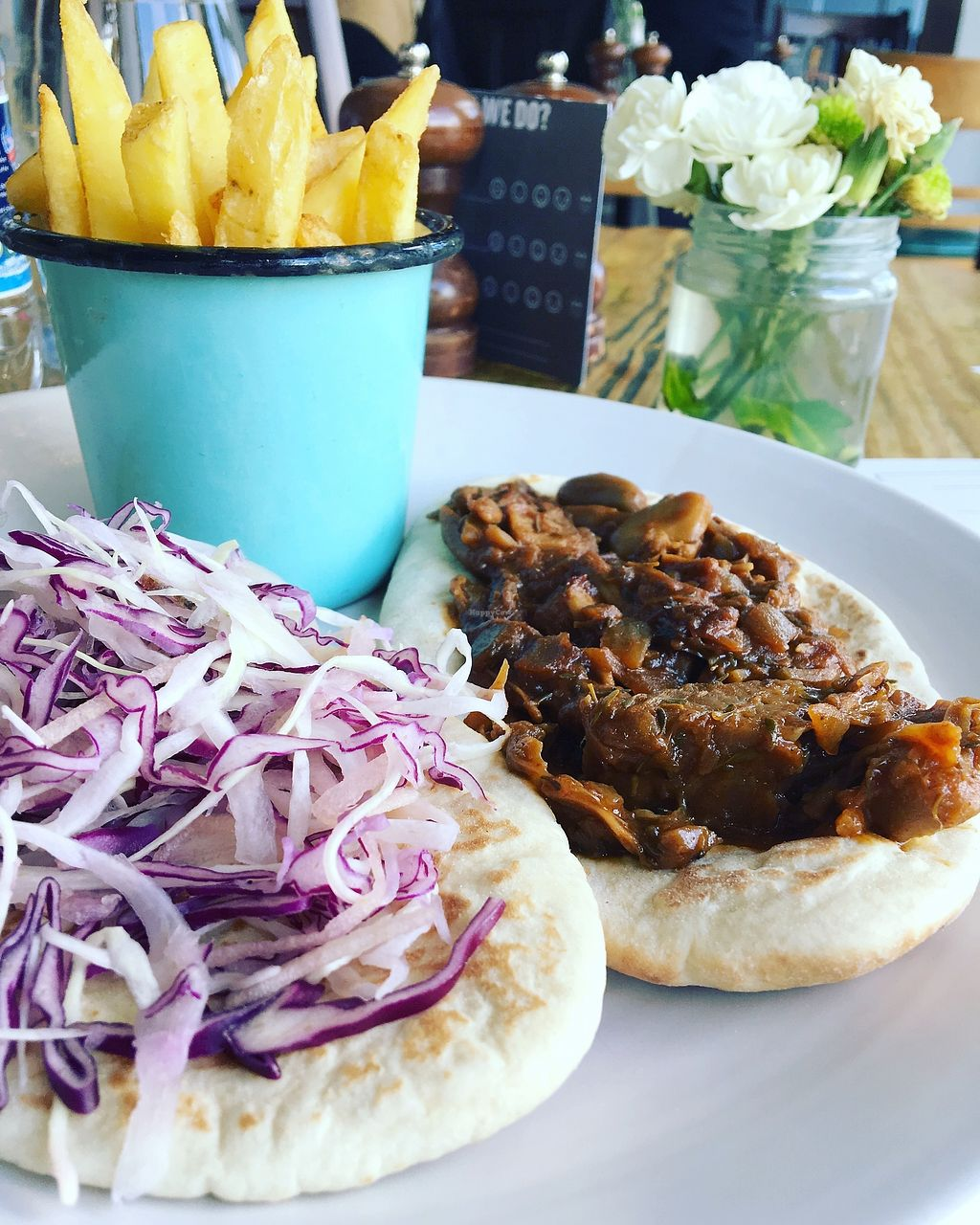 "Photo of The Signal Pub  by <a href=""/members/profile/analavegana"">analavegana</a> <br/>Pulled bbq Jackfruit on flatbread <br/> October 3, 2017  - <a href='/contact/abuse/image/102135/311322'>Report</a>"