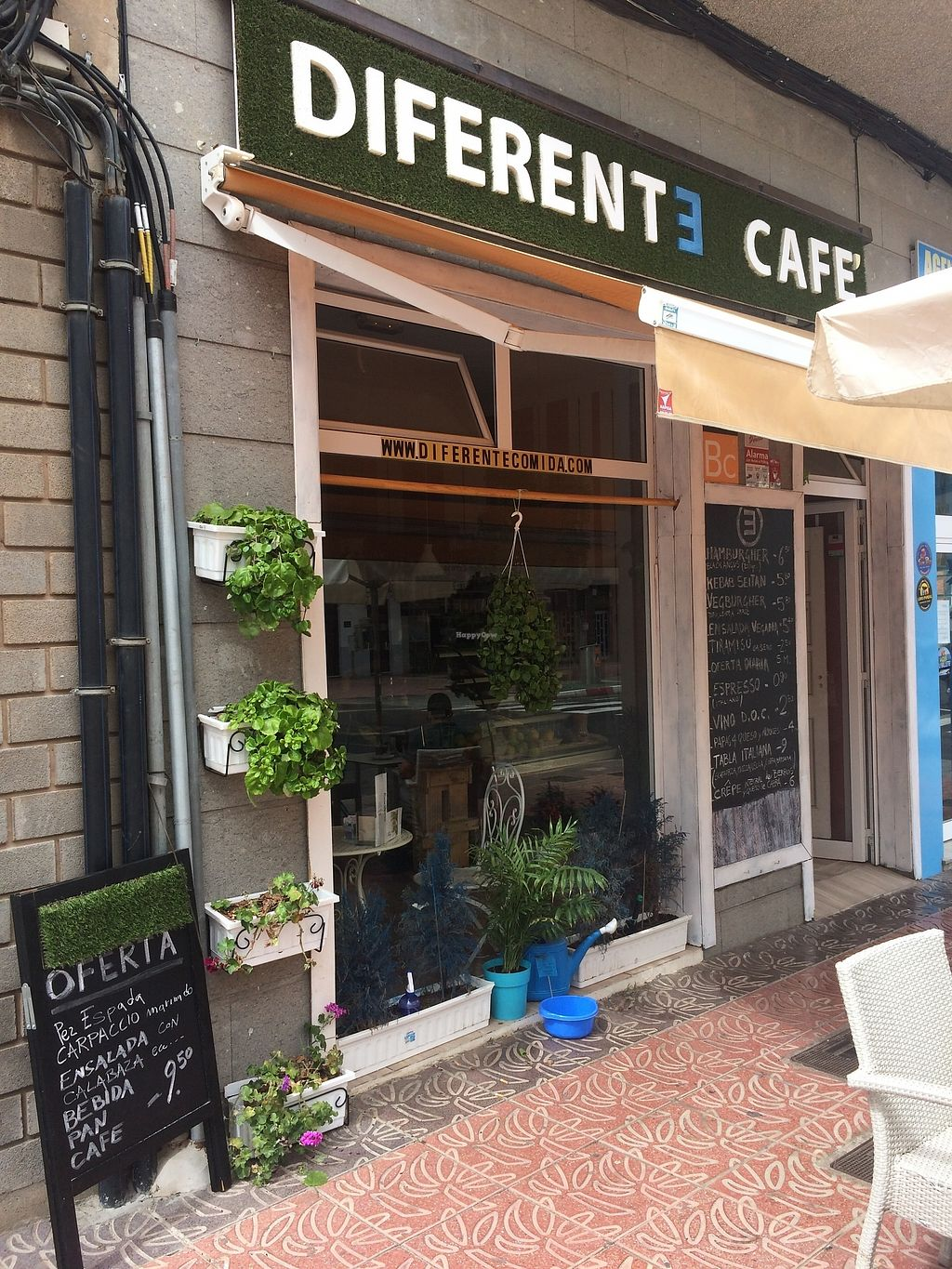 """Photo of Diferente Cafe  by <a href=""""/members/profile/KarlIanLewis"""">KarlIanLewis</a> <br/>Cafe front <br/> October 14, 2017  - <a href='/contact/abuse/image/102137/315057'>Report</a>"""