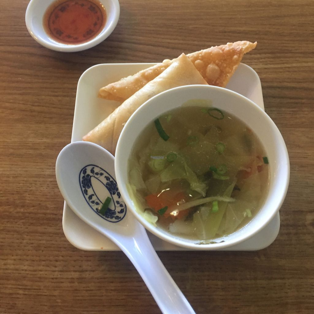 """Photo of Royal Siam Cuisine  by <a href=""""/members/profile/LinnDaugherty"""">LinnDaugherty</a> <br/>comes with lunch special - possible msg and YES vegetarian NOT SURE if it's vegan <br/> February 2, 2017  - <a href='/contact/abuse/image/10214/220720'>Report</a>"""