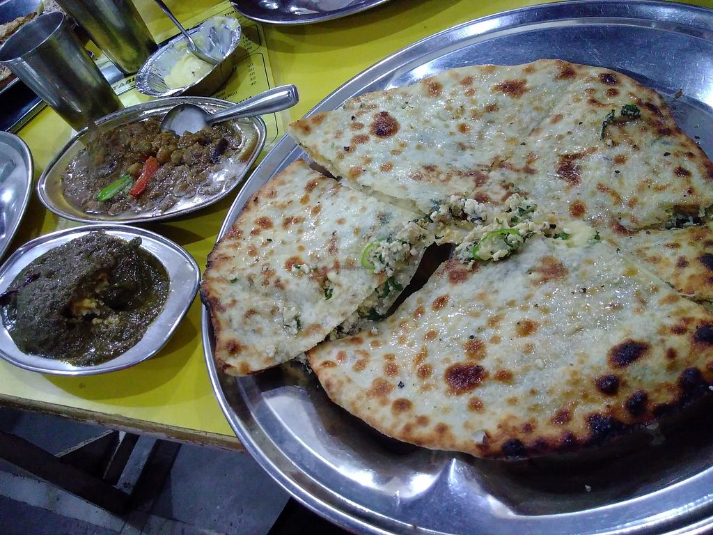 """Photo of Kake di Hatti  by <a href=""""/members/profile/mcld"""">mcld</a> <br/>Meal with massive naan <br/> October 3, 2017  - <a href='/contact/abuse/image/102160/311238'>Report</a>"""