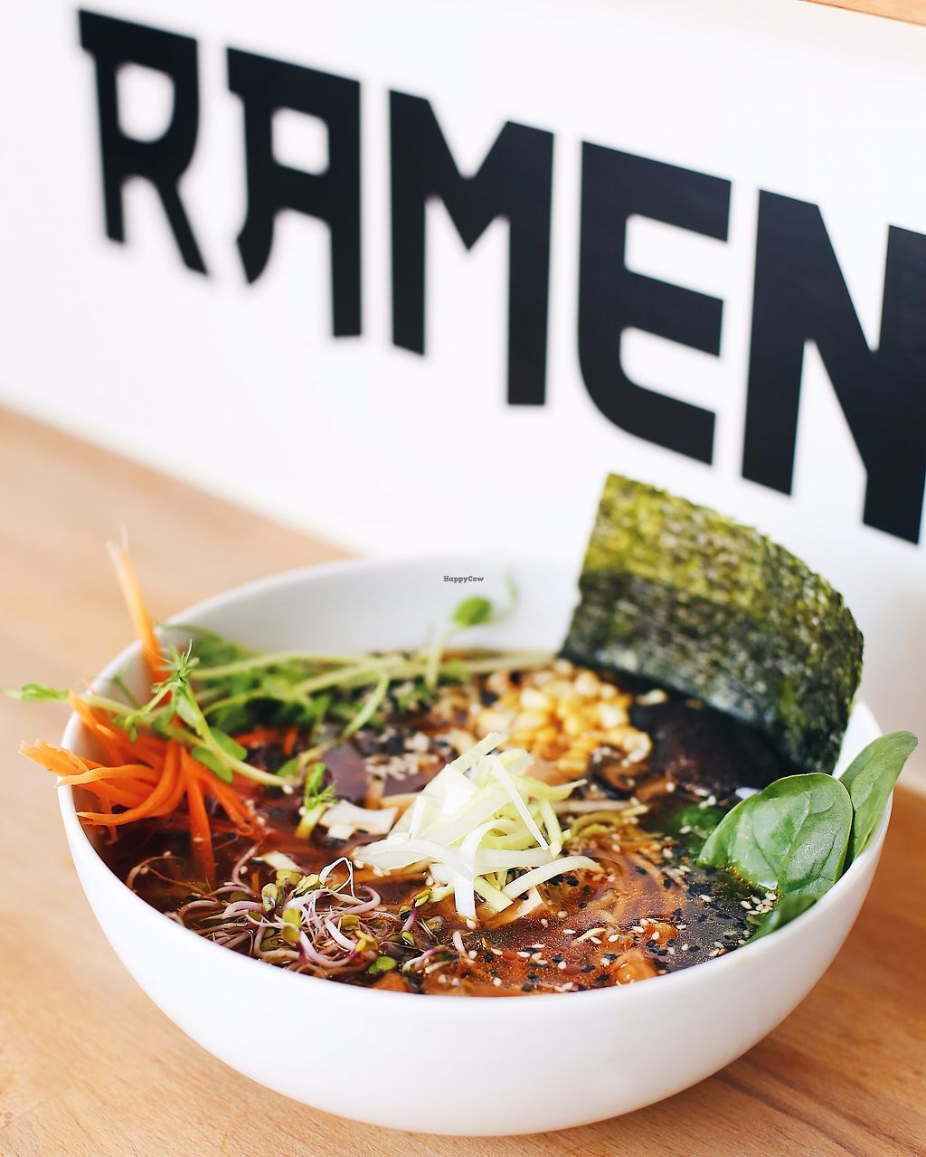 "Photo of Ramen-Ya  by <a href=""/members/profile/Fisty022"">Fisty022</a> <br/>Vegan ramen  <br/> October 2, 2017  - <a href='/contact/abuse/image/102175/311183'>Report</a>"