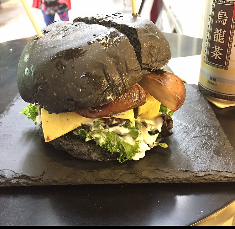 "Photo of Veggi Monster  by <a href=""/members/profile/Ashni"">Ashni</a> <br/>delicious Burger in Black <br/> April 25, 2018  - <a href='/contact/abuse/image/102202/390764'>Report</a>"