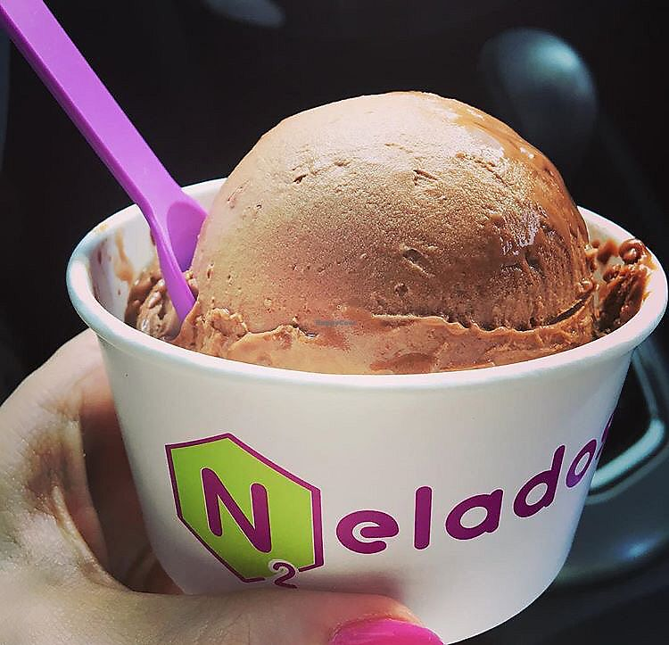 "Photo of Nelados  by <a href=""/members/profile/analavegana"">analavegana</a> <br/>Almond milk + chocolate + coffee <br/> October 5, 2017  - <a href='/contact/abuse/image/102250/311918'>Report</a>"