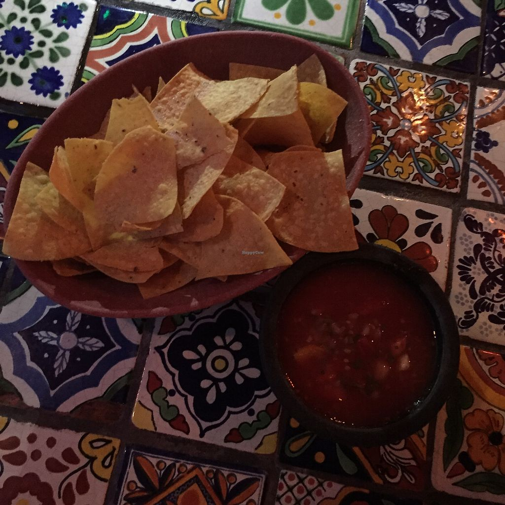 "Photo of Iguana Cantina  by <a href=""/members/profile/Eefie"">Eefie</a> <br/>Free tortilla chips with salsa <br/> October 4, 2017  - <a href='/contact/abuse/image/102293/311826'>Report</a>"