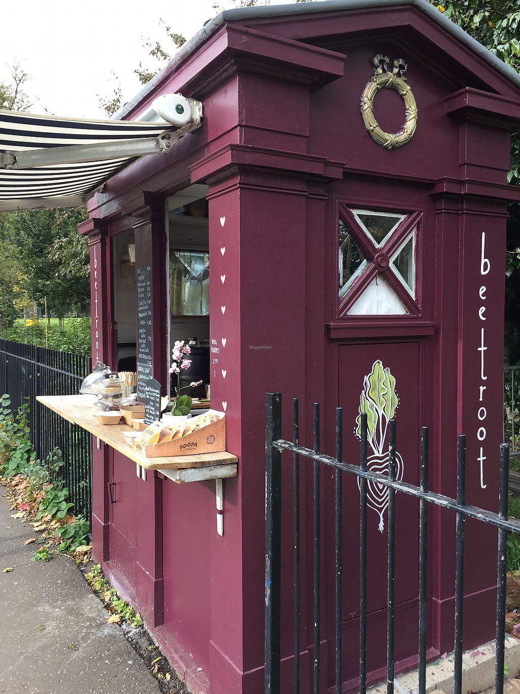 """Photo of Beetroot Cafe  by <a href=""""/members/profile/koringal"""">koringal</a> <br/>Beetroot cafe police box <br/> October 6, 2017  - <a href='/contact/abuse/image/102294/312304'>Report</a>"""