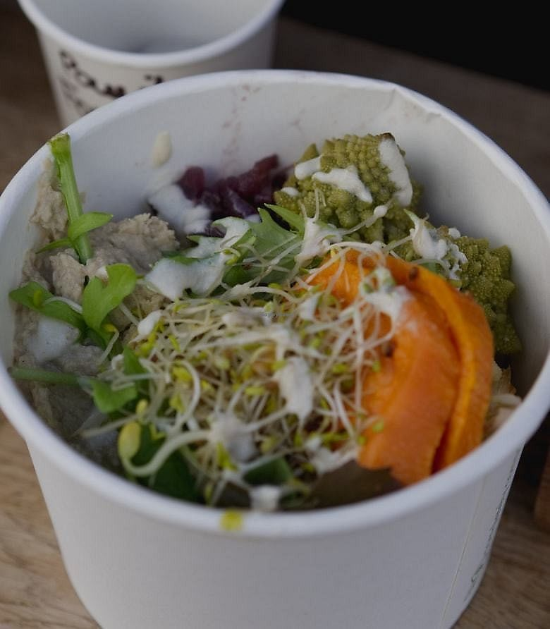"Photo of Beetroot Cafe  by <a href=""/members/profile/EmmaFaeEdinburgh"">EmmaFaeEdinburgh</a> <br/>Goodness bowl at the Beet Box, Edinburgh <br/> February 4, 2018  - <a href='/contact/abuse/image/102294/354949'>Report</a>"