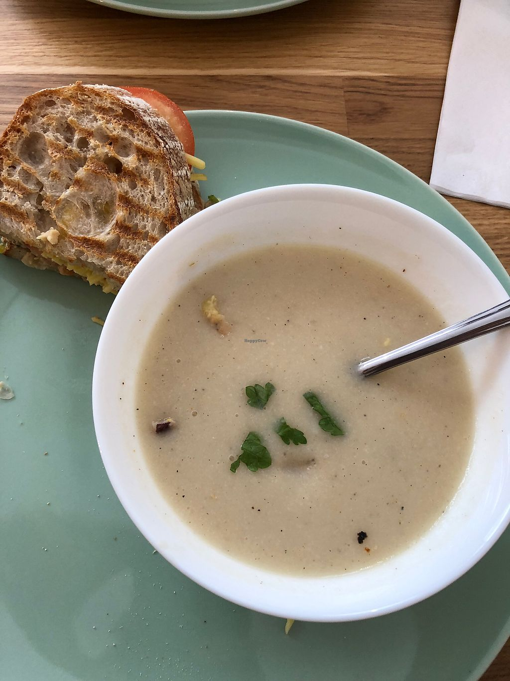 """Photo of Serenity Now  by <a href=""""/members/profile/MarkKelvin"""">MarkKelvin</a> <br/>Soup and sandwich (I've eaten half) <br/> January 22, 2018  - <a href='/contact/abuse/image/102295/349671'>Report</a>"""