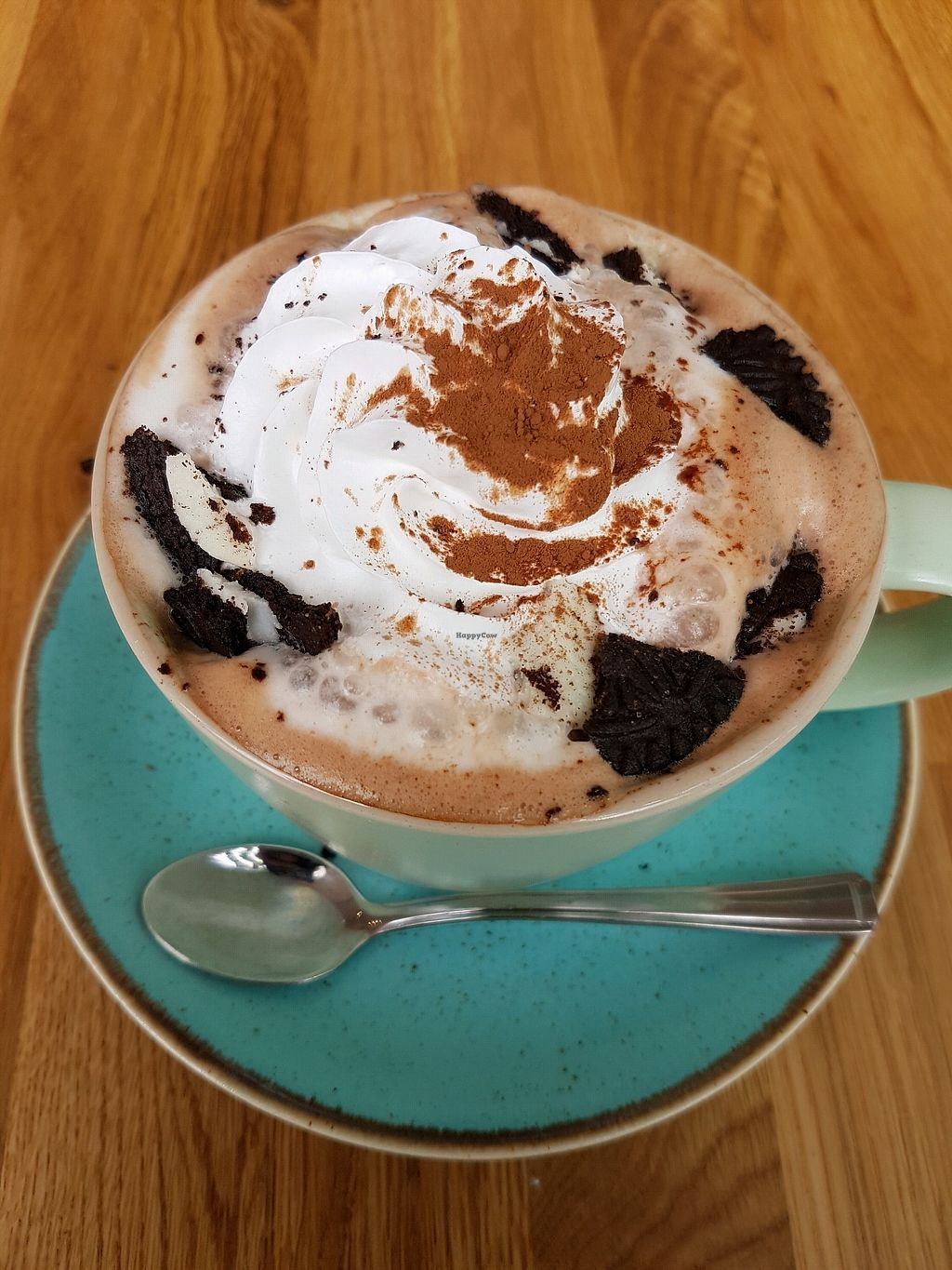 """Photo of Serenity Now  by <a href=""""/members/profile/bpaula35"""">bpaula35</a> <br/>Luxe hot chocolate with oreos and marshmallows  <br/> April 1, 2018  - <a href='/contact/abuse/image/102295/379426'>Report</a>"""