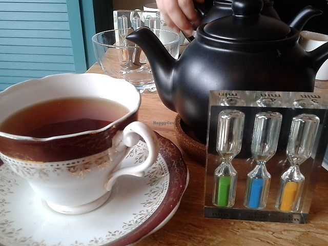 """Photo of Shoe Tree Cafe  by <a href=""""/members/profile/deadpledge"""">deadpledge</a> <br/>Russian caravan speciality tea <br/> April 13, 2018  - <a href='/contact/abuse/image/102296/385179'>Report</a>"""