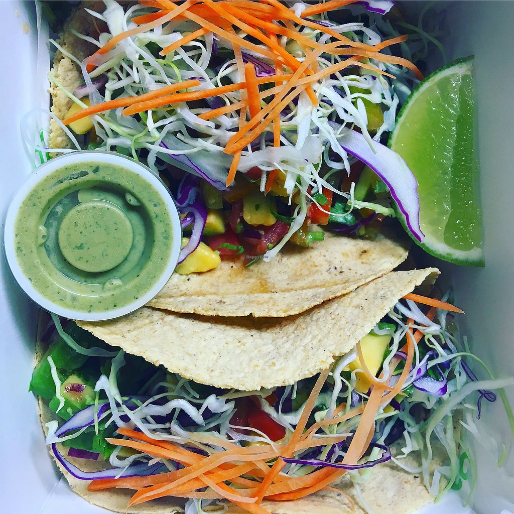 """Photo of T Bar  by <a href=""""/members/profile/analavegana"""">analavegana</a> <br/>Vegan tacos <br/> October 6, 2017  - <a href='/contact/abuse/image/102306/312437'>Report</a>"""