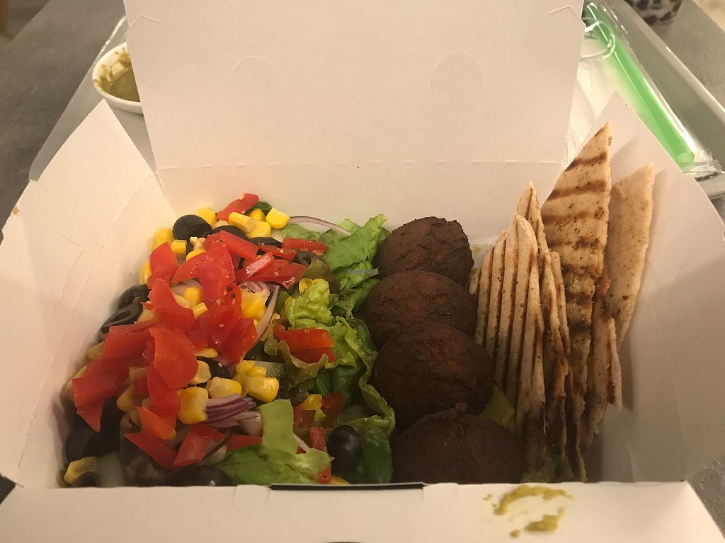 """Photo of T Bar  by <a href=""""/members/profile/GaryBartlett"""">GaryBartlett</a> <br/>Falafel box <br/> March 31, 2018  - <a href='/contact/abuse/image/102306/378847'>Report</a>"""