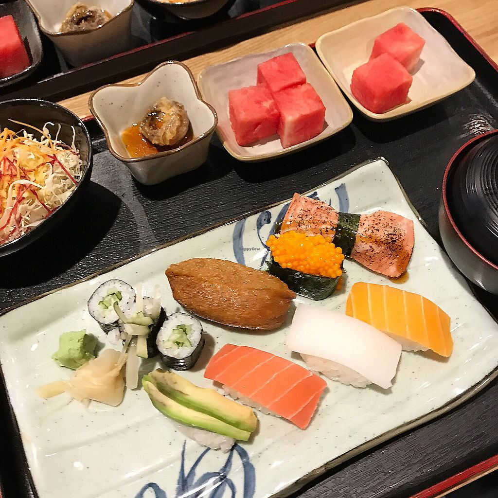 """Photo of Zen House  by <a href=""""/members/profile/Alina_Kalieva"""">Alina_Kalieva</a> <br/>Vegan sushi <br/> January 9, 2018  - <a href='/contact/abuse/image/102332/344577'>Report</a>"""