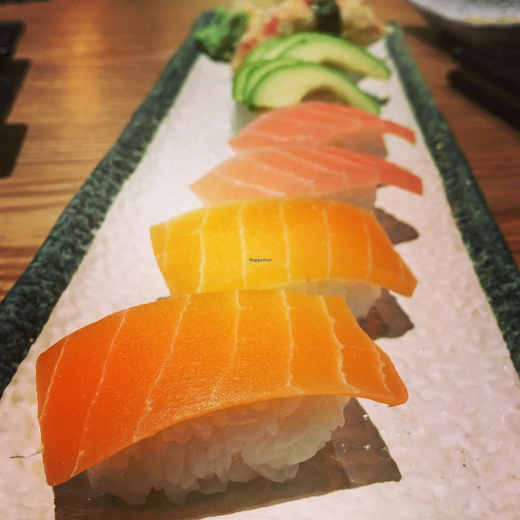 """Photo of Zen House  by <a href=""""/members/profile/Spaghetti_monster"""">Spaghetti_monster</a> <br/>Vegan sushi  <br/> April 8, 2018  - <a href='/contact/abuse/image/102332/382341'>Report</a>"""