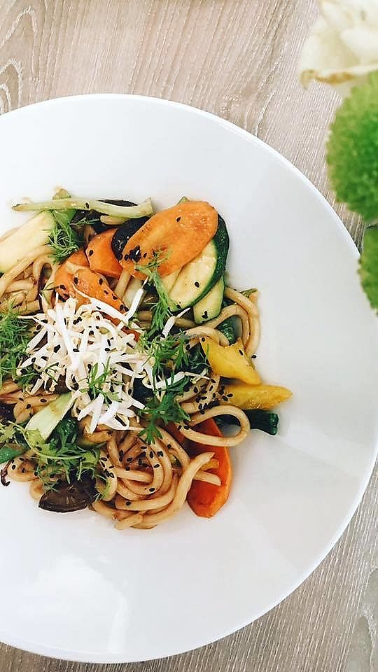 """Photo of Forrest Bistro  by <a href=""""/members/profile/Nikolate"""">Nikolate</a> <br/>noodles <br/> October 6, 2017  - <a href='/contact/abuse/image/102335/312504'>Report</a>"""