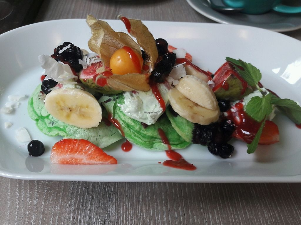"""Photo of Forrest Bistro  by <a href=""""/members/profile/jennyc32"""">jennyc32</a> <br/>Pandan pancakes  <br/> November 10, 2017  - <a href='/contact/abuse/image/102335/323974'>Report</a>"""