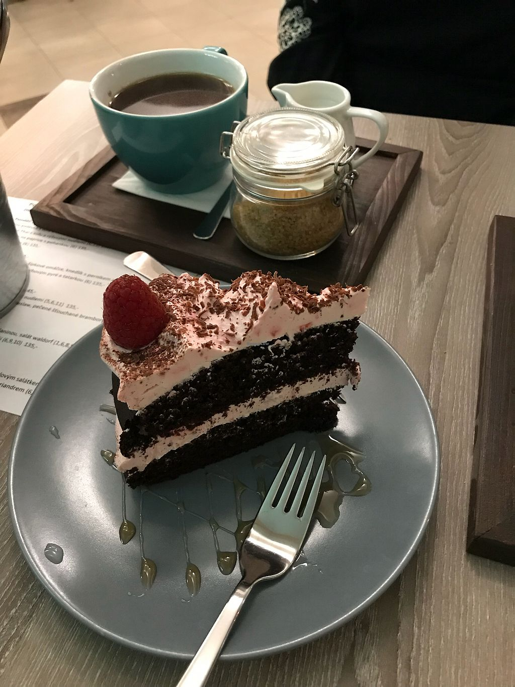 """Photo of Forrest Bistro  by <a href=""""/members/profile/AlexDowney"""">AlexDowney</a> <br/>Chocolate raspberry cake  <br/> March 12, 2018  - <a href='/contact/abuse/image/102335/369928'>Report</a>"""