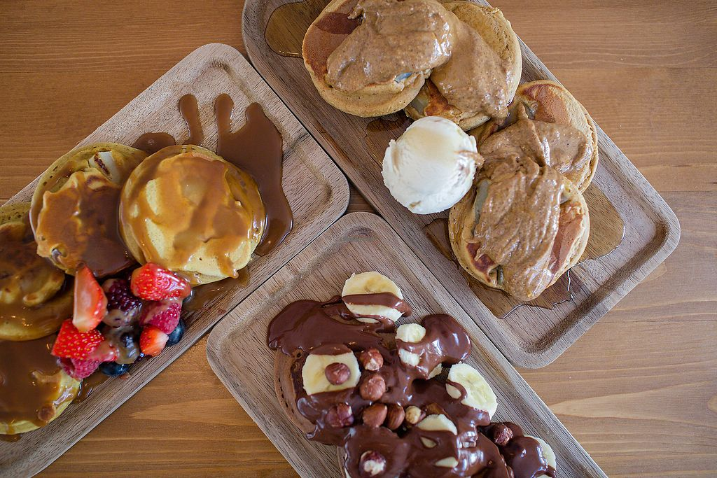"""Photo of The Lean Pantry Co  by <a href=""""/members/profile/sugarfree_vegan"""">sugarfree_vegan</a> <br/>Vegan Pancakes <br/> October 7, 2017  - <a href='/contact/abuse/image/102336/312625'>Report</a>"""