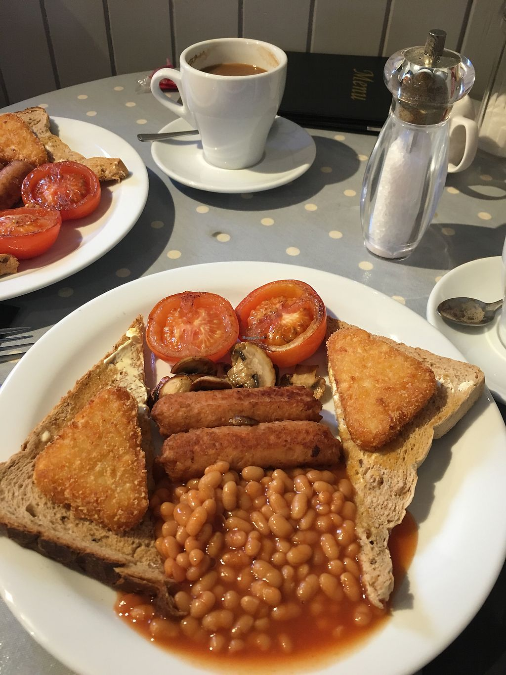 """Photo of The Jetty Cafe  by <a href=""""/members/profile/AnnieLouiseHasler"""">AnnieLouiseHasler</a> <br/>Vegan breakfast  <br/> February 21, 2018  - <a href='/contact/abuse/image/102426/362150'>Report</a>"""