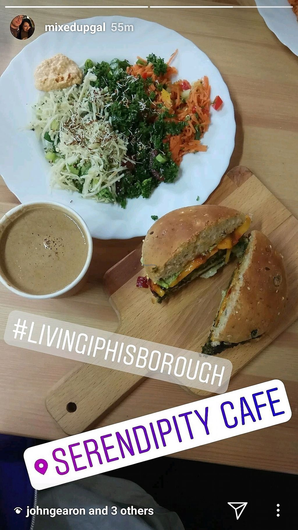 """Photo of Living I Club  by <a href=""""/members/profile/ZahairaCaffreyEsmau"""">ZahairaCaffreyEsmau</a> <br/>the best burgers ever!!  <br/> November 4, 2017  - <a href='/contact/abuse/image/102464/321692'>Report</a>"""