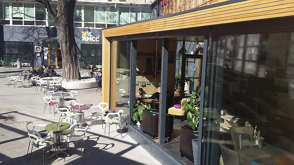 """Photo of Mcc Cafe  by <a href=""""/members/profile/slovenianvegan"""">slovenianvegan</a> <br/>Outdoor <br/> February 2, 2018  - <a href='/contact/abuse/image/102493/354011'>Report</a>"""