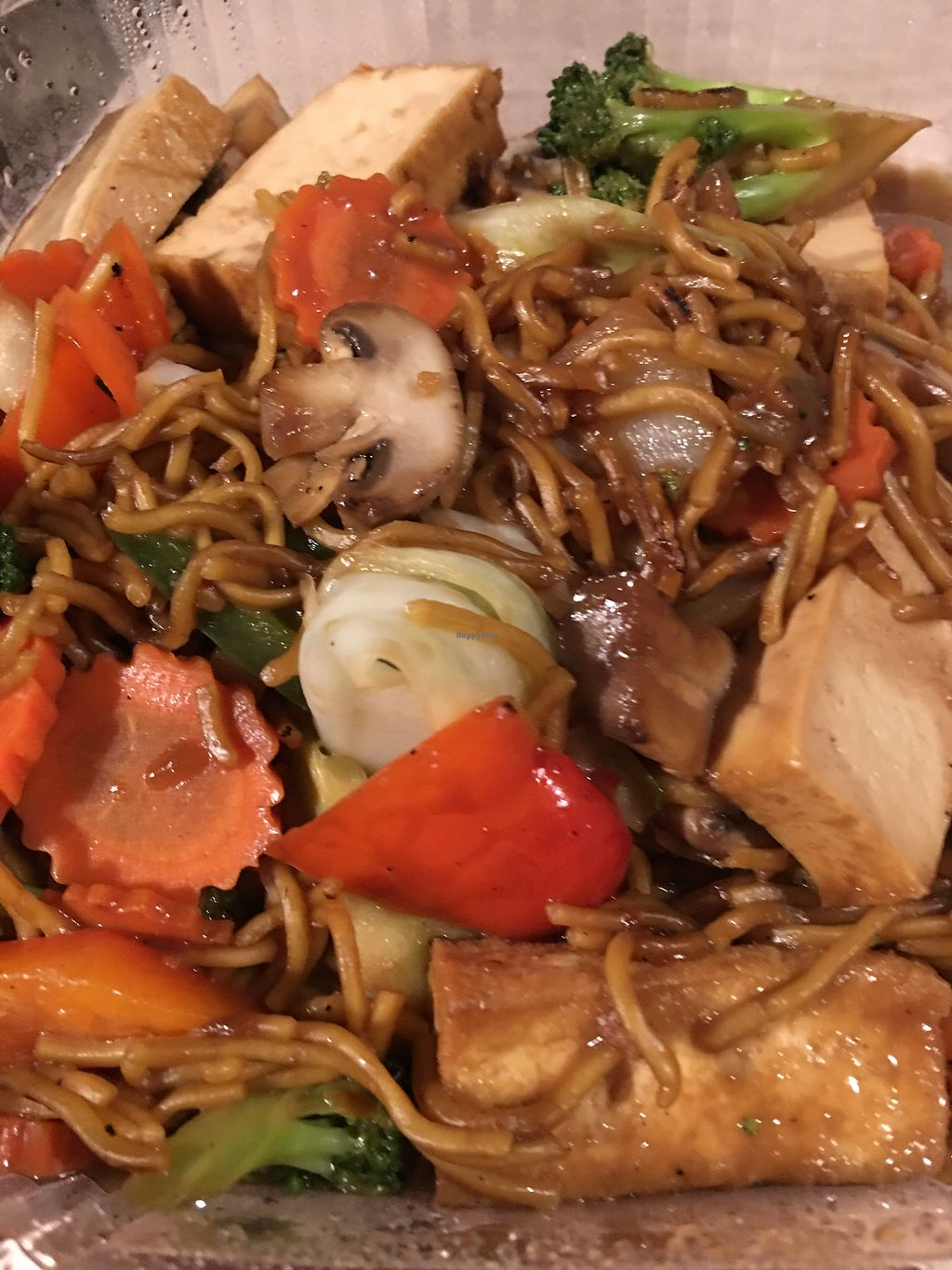 """Photo of Pac Thai  by <a href=""""/members/profile/Jenf"""">Jenf</a> <br/>Vegan yakisoba  <br/> December 22, 2017  - <a href='/contact/abuse/image/102499/337924'>Report</a>"""