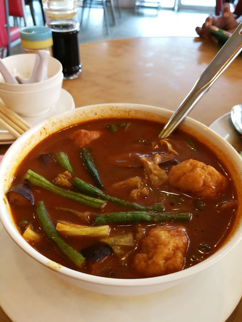 "Photo of Ring Zhi Vegetarian Restaurant  by <a href=""/members/profile/RawChefYin"">RawChefYin</a> <br/>Curry Vegetables (small) RM15 - remember to request for no milk