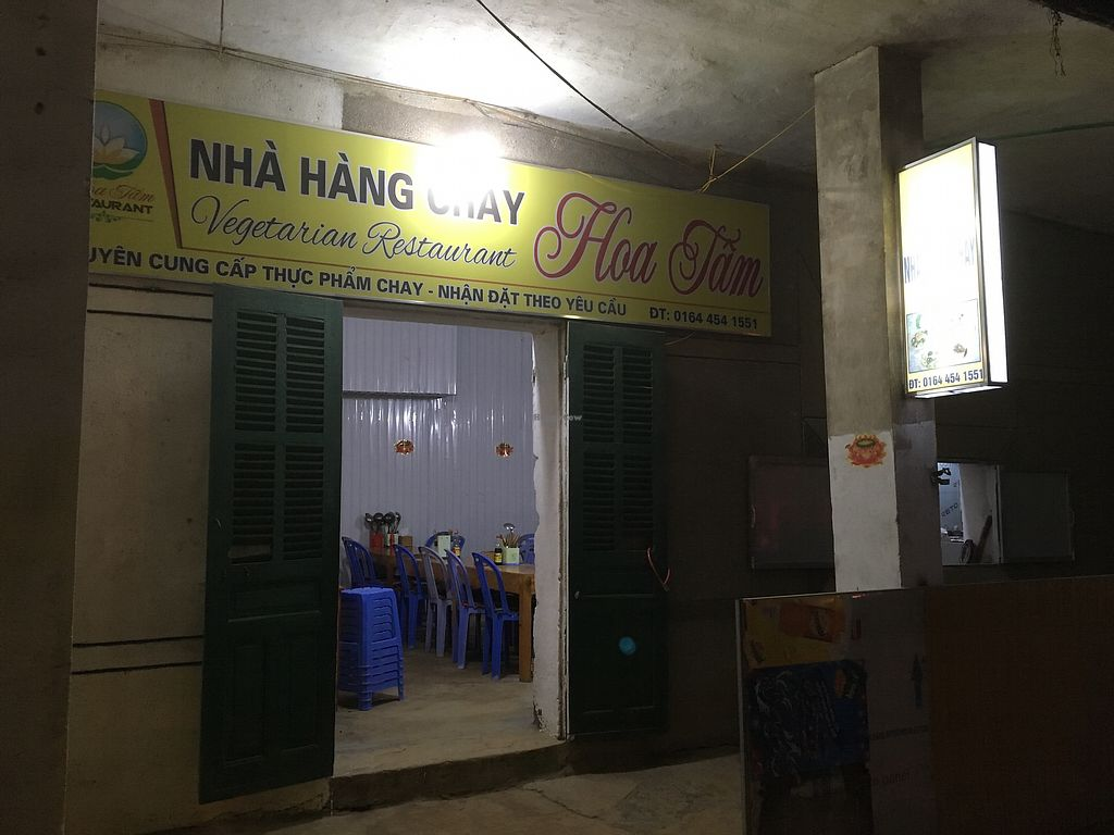 "Photo of Nha Hang Chay Hoa Tam  by <a href=""/members/profile/tamarakohl"">tamarakohl</a> <br/>Nhà Hàng Chay  <br/> November 2, 2017  - <a href='/contact/abuse/image/102518/321108'>Report</a>"