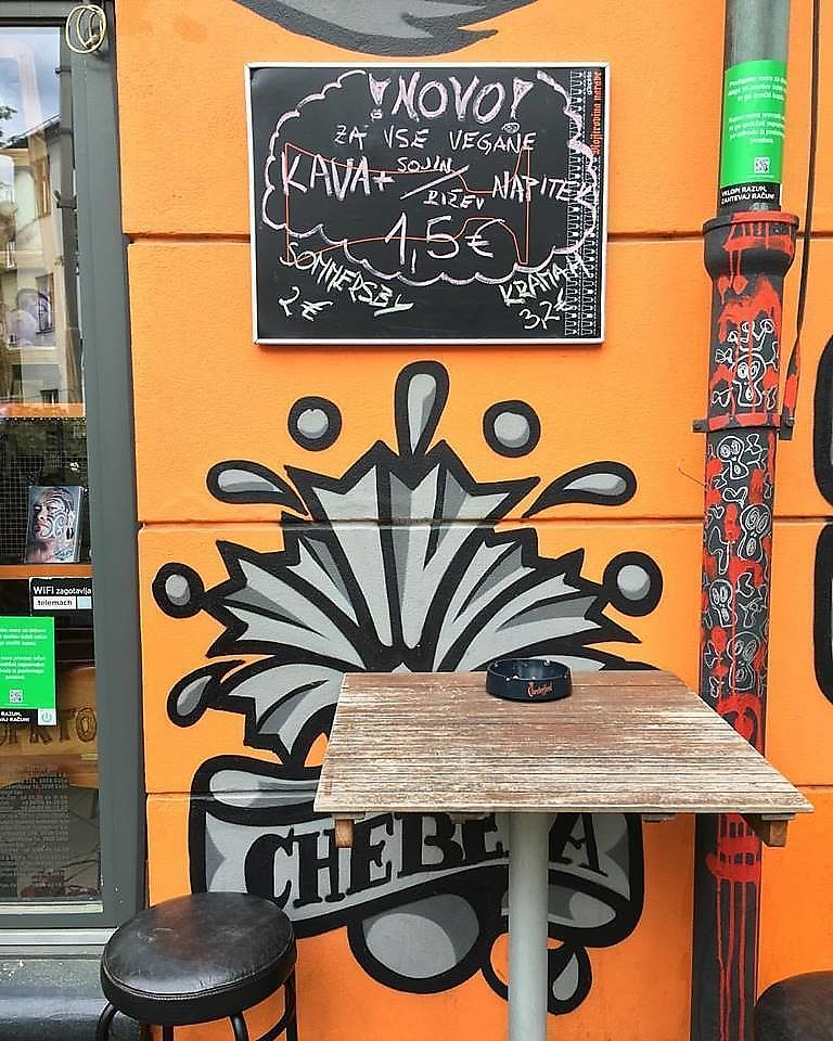 """Photo of Chebela  by <a href=""""/members/profile/slovenianvegan"""">slovenianvegan</a> <br/>Coffee with soy or rice """"milk"""" <br/> February 2, 2018  - <a href='/contact/abuse/image/102540/354009'>Report</a>"""