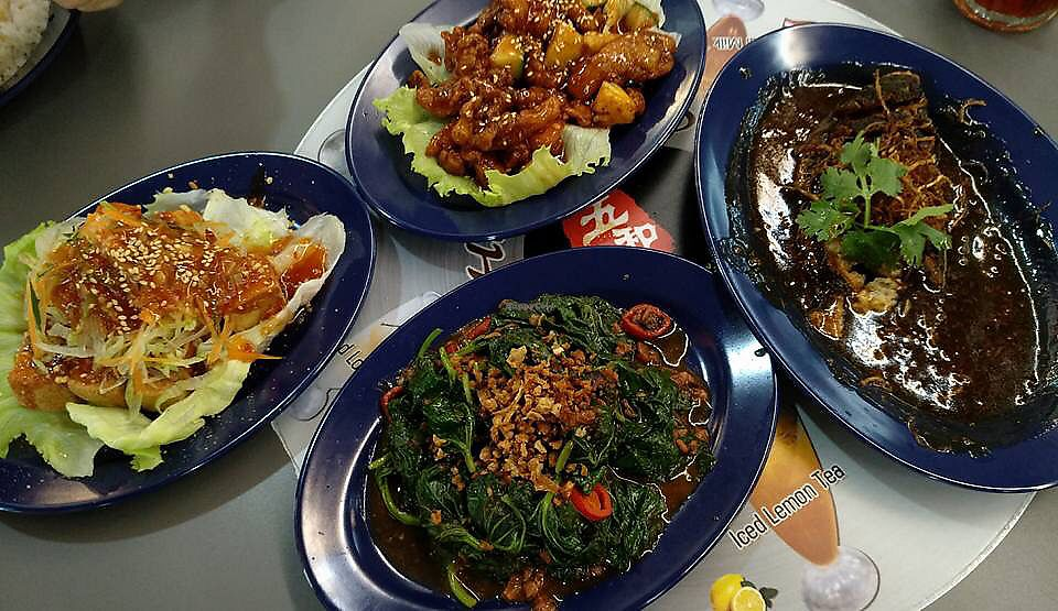 """Photo of Mummy Yummy Stall  by <a href=""""/members/profile/CherylQuincy"""">CherylQuincy</a> <br/>Zichar dishes <br/> January 22, 2018  - <a href='/contact/abuse/image/102541/349638'>Report</a>"""