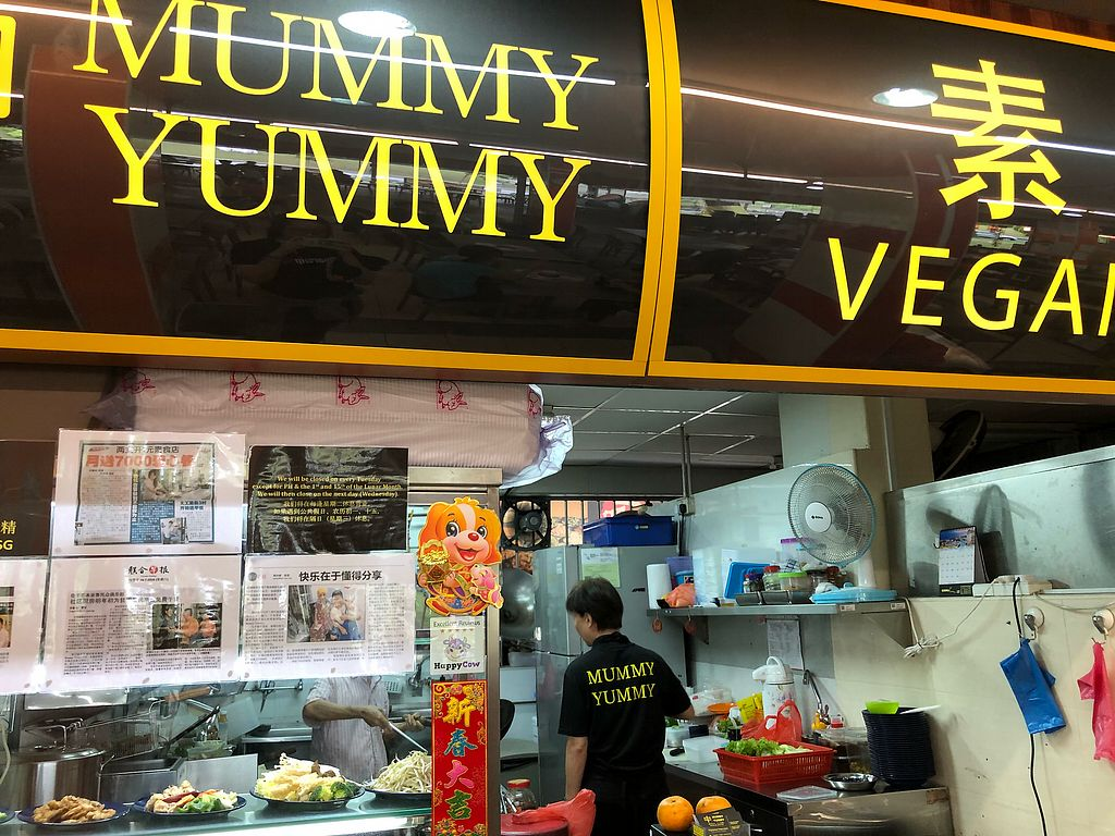 """Photo of Mummy Yummy Stall  by <a href=""""/members/profile/CherylQuincy"""">CherylQuincy</a> <br/>Happycow decal <br/> February 23, 2018  - <a href='/contact/abuse/image/102541/362632'>Report</a>"""