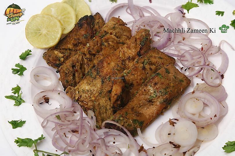 """Photo of Chaap ki Chhap  by <a href=""""/members/profile/ChaapKiChhap"""">ChaapKiChhap</a> <br/>Mock Fish,every vegan's wish  <br/> December 20, 2017  - <a href='/contact/abuse/image/102549/337420'>Report</a>"""