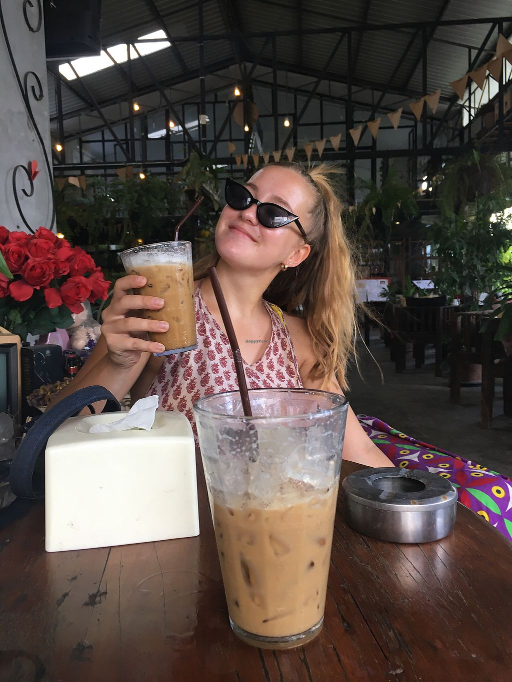 """Photo of Cube No.7  by <a href=""""/members/profile/kira"""">kira</a> <br/>Ice coffee with soymilk <br/> December 31, 2017  - <a href='/contact/abuse/image/102601/341242'>Report</a>"""