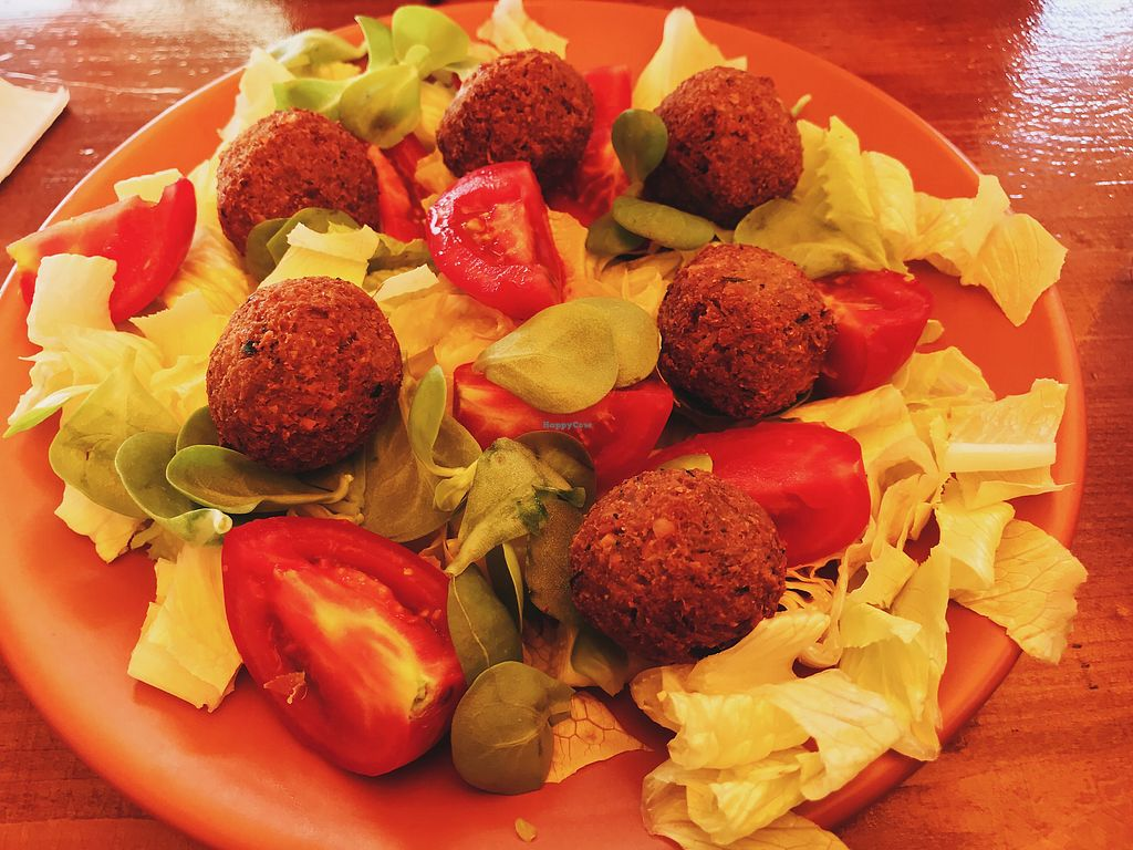 """Photo of Cafe Beirut  by <a href=""""/members/profile/veganoteacher"""">veganoteacher</a> <br/>Falafel <br/> October 15, 2017  - <a href='/contact/abuse/image/102608/315444'>Report</a>"""