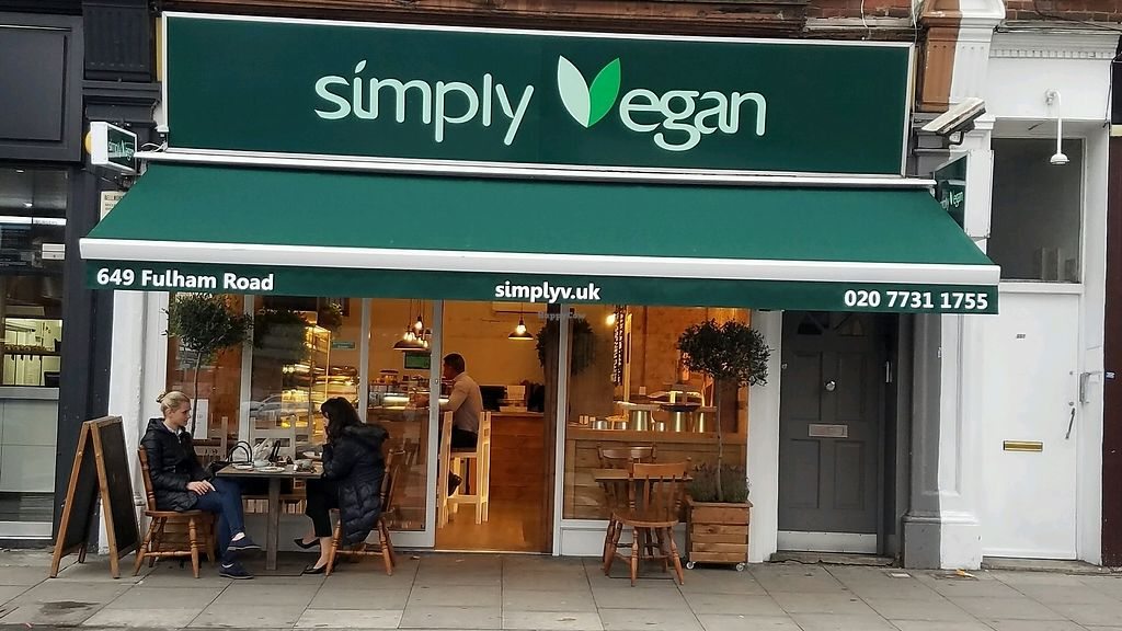 """Photo of Simply Vegan  by <a href=""""/members/profile/eric"""">eric</a> <br/>outside <br/> October 19, 2017  - <a href='/contact/abuse/image/102624/316602'>Report</a>"""
