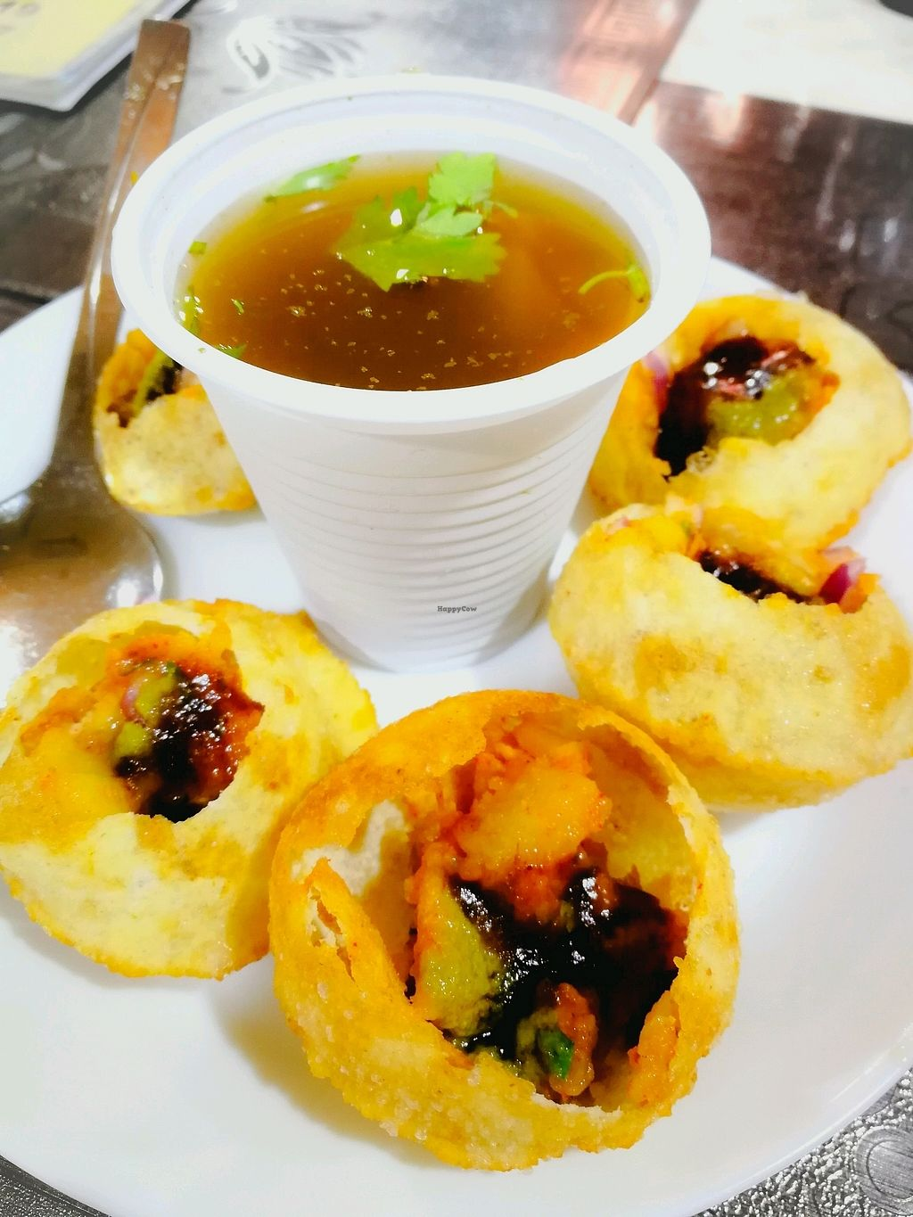"Photo of Pakwan Vegetarian Restaurant - North  by <a href=""/members/profile/Gudrun"">Gudrun</a> <br/>pani puri <br/> October 17, 2017  - <a href='/contact/abuse/image/102629/316094'>Report</a>"