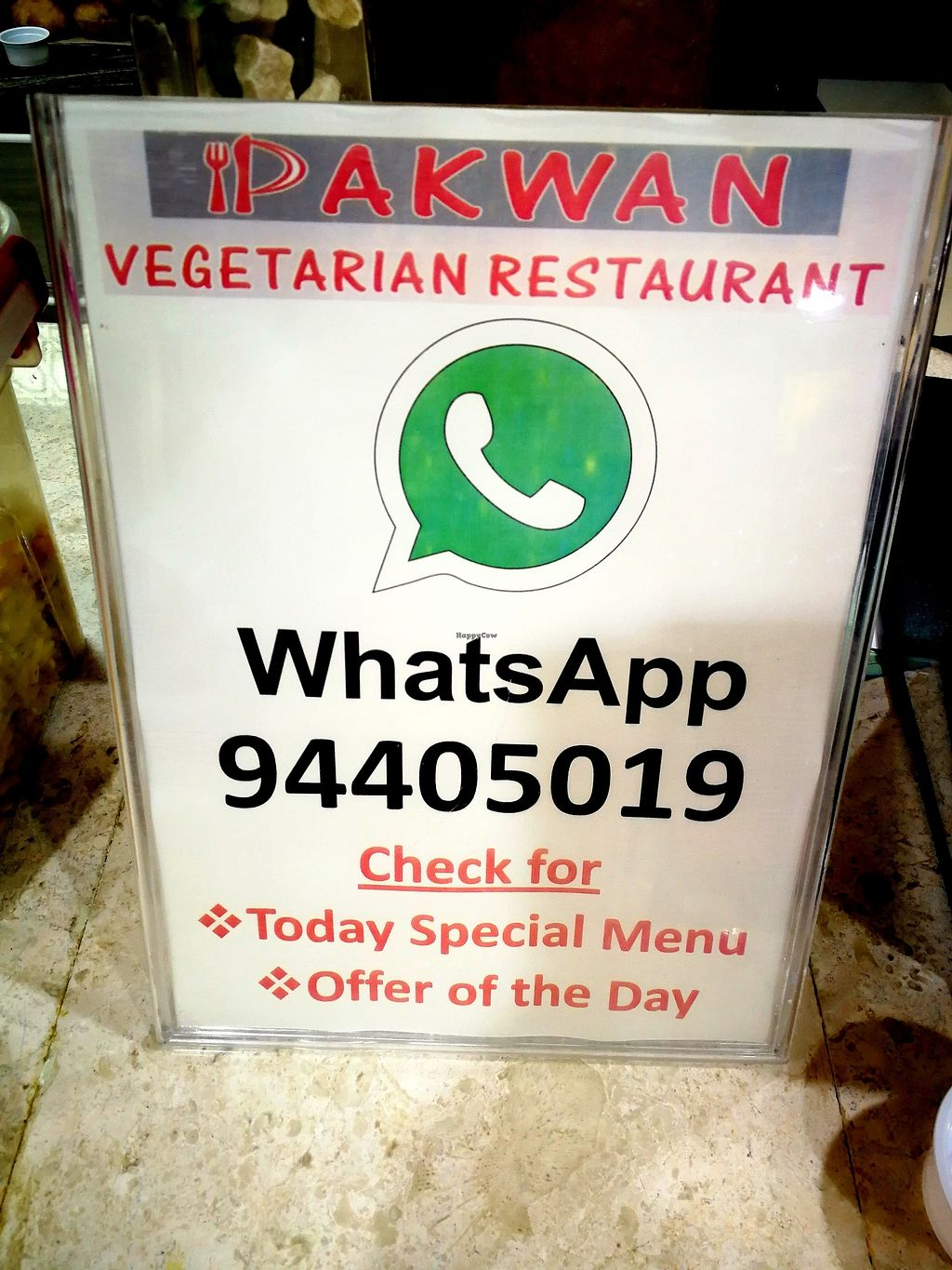 "Photo of Pakwan Vegetarian Restaurant - North  by <a href=""/members/profile/Gudrun"">Gudrun</a> <br/>Inside <br/> October 23, 2017  - <a href='/contact/abuse/image/102629/318077'>Report</a>"