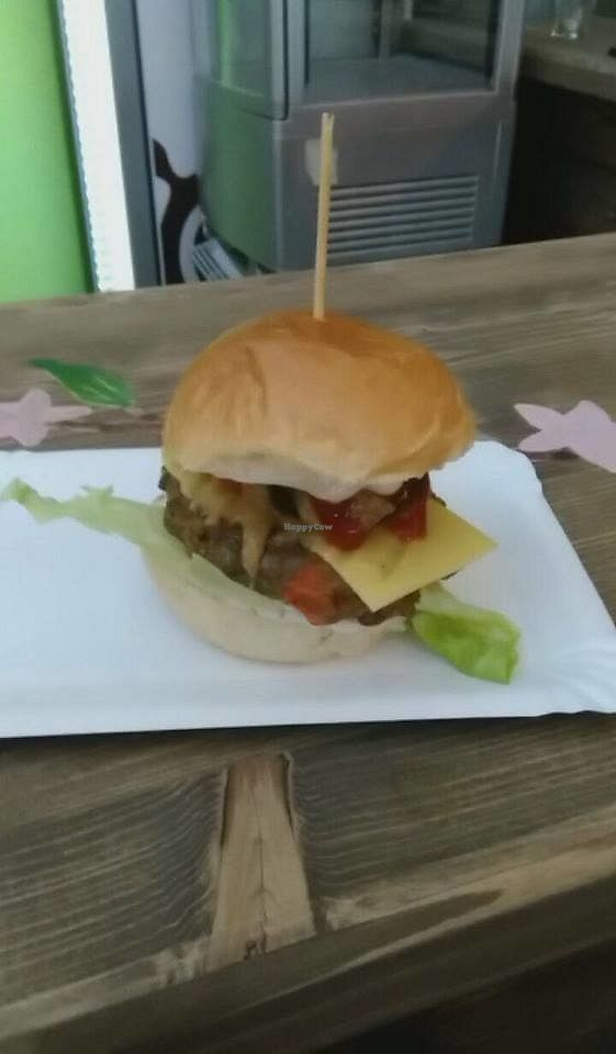 """Photo of Veg'ac  by <a href=""""/members/profile/FitVeganTrio"""">FitVeganTrio</a> <br/>Great food tasted during the vegan meeting in Vegac, Most :) <br/> November 12, 2017  - <a href='/contact/abuse/image/102637/324909'>Report</a>"""