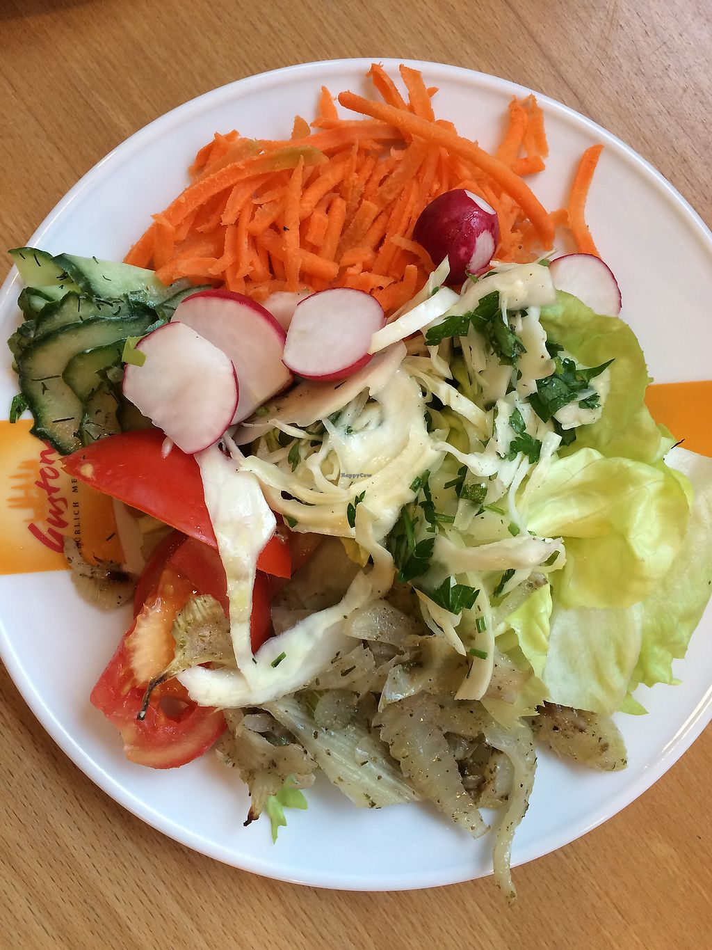 """Photo of Fischer Mühle BioMarkt   by <a href=""""/members/profile/Carissima"""">Carissima</a> <br/>Salad composed of organic vegetables  <br/> October 12, 2017  - <a href='/contact/abuse/image/102645/314449'>Report</a>"""