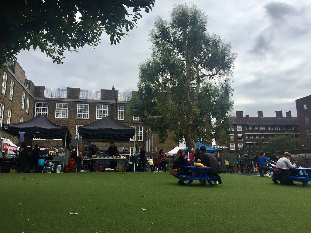 "Photo of Broadway Vegan Market  by <a href=""/members/profile/Bea_lc"">Bea_lc</a> <br/>The lovely sitting area of the market <br/> October 14, 2017  - <a href='/contact/abuse/image/102672/315236'>Report</a>"