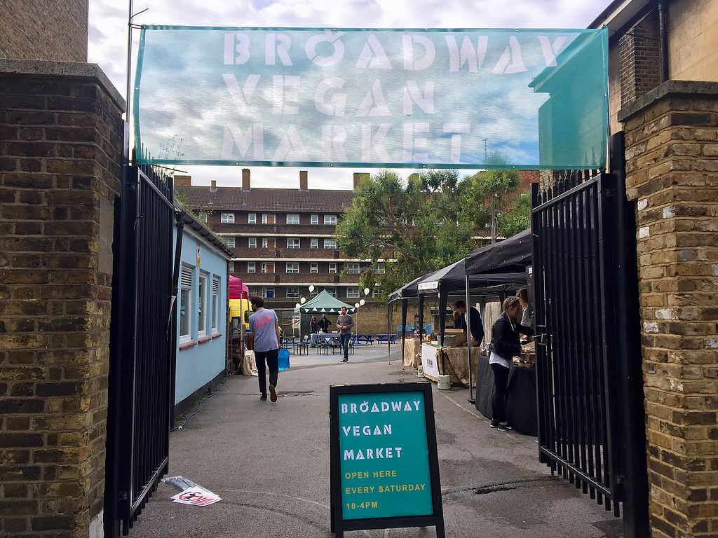 "Photo of Broadway Vegan Market  by <a href=""/members/profile/Bea_lc"">Bea_lc</a> <br/>the market entrance <br/> October 14, 2017  - <a href='/contact/abuse/image/102672/315245'>Report</a>"