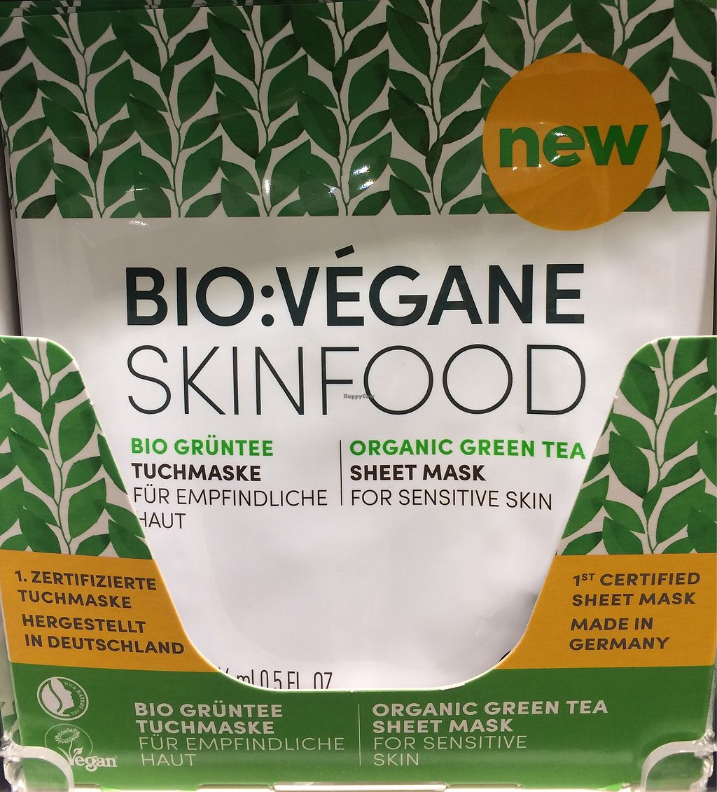 "Photo of Dm-Drogerie Markt - Bühlstraße  by <a href=""/members/profile/Carissima"">Carissima</a> <br/>Green-tea sheet mask (cranberry also available) <br/> October 11, 2017  - <a href='/contact/abuse/image/102694/314196'>Report</a>"
