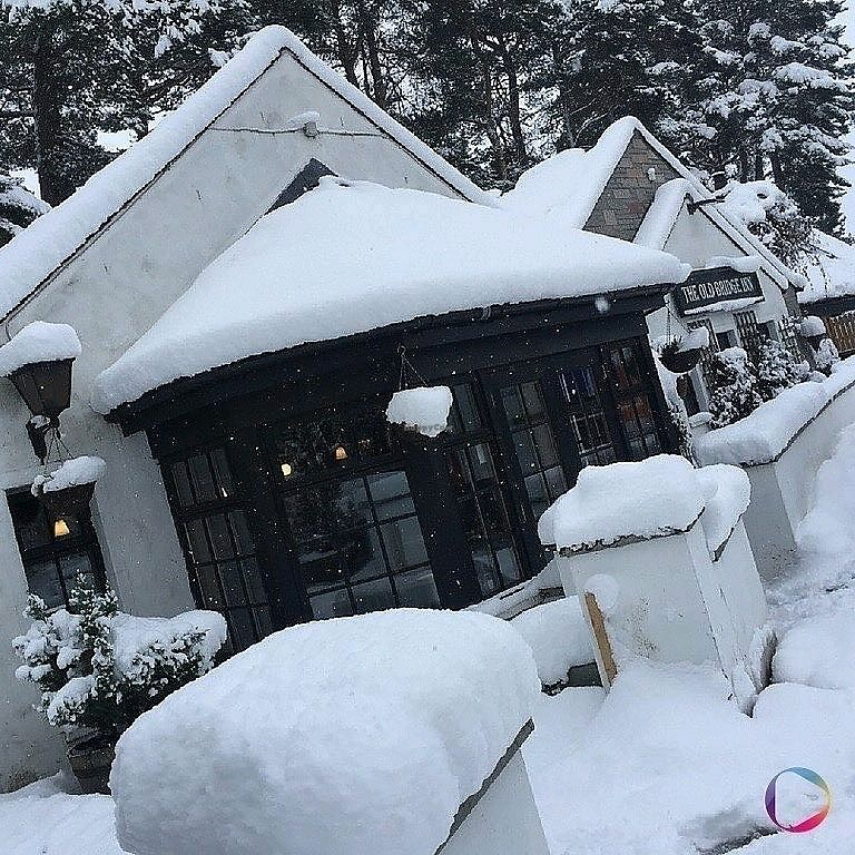 """Photo of The Old Bridge Inn  by <a href=""""/members/profile/craigmc"""">craigmc</a> <br/>winter <br/> March 28, 2018  - <a href='/contact/abuse/image/102699/377537'>Report</a>"""