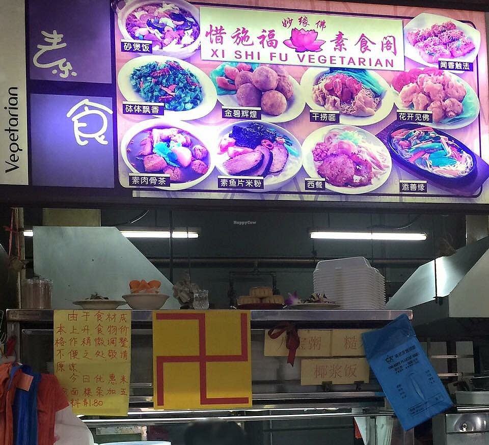 """Photo of Xi Shi Fu Vegetarian Stall  by <a href=""""/members/profile/VeggieTemptation"""">VeggieTemptation</a> <br/>☆ More vegan recipes and eateries at www.veggieTemptation.blogspot.sg.  Facebook: veggietemptation  <br/> March 12, 2018  - <a href='/contact/abuse/image/102701/369524'>Report</a>"""