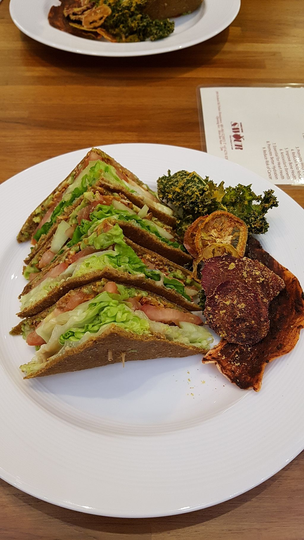 """Photo of Wholesome Savour  by <a href=""""/members/profile/SomethingVegan"""">SomethingVegan</a> <br/>The Savour BLT <br/> January 1, 2018  - <a href='/contact/abuse/image/102730/341779'>Report</a>"""