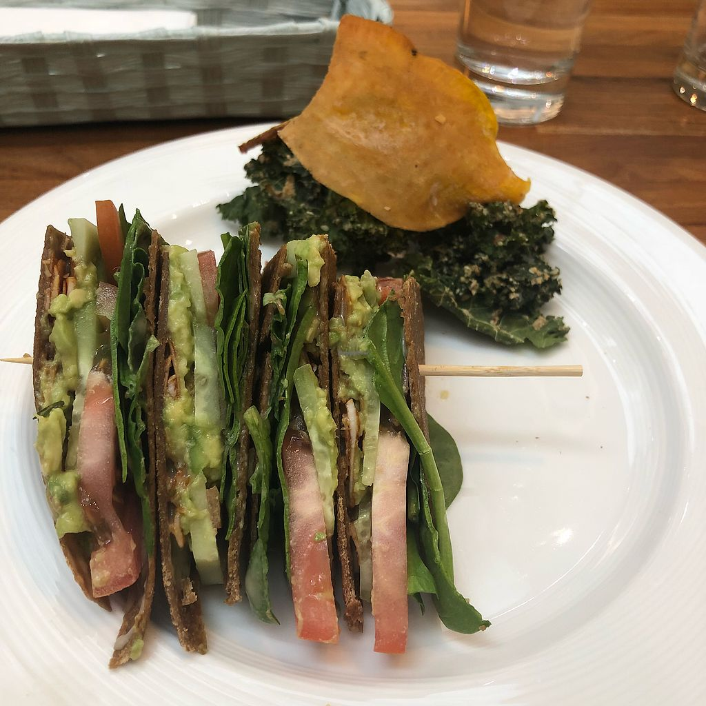 """Photo of Wholesome Savour  by <a href=""""/members/profile/lydmye"""">lydmye</a> <br/>BLT and vegetable chips <br/> March 22, 2018  - <a href='/contact/abuse/image/102730/374115'>Report</a>"""