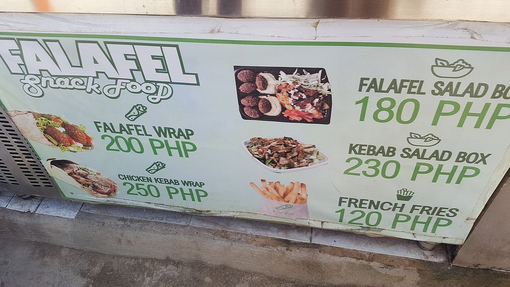 """Photo of Falafel Snack Food  by <a href=""""/members/profile/MaryKelly"""">MaryKelly</a> <br/>Menu <br/> October 13, 2017  - <a href='/contact/abuse/image/102744/314750'>Report</a>"""