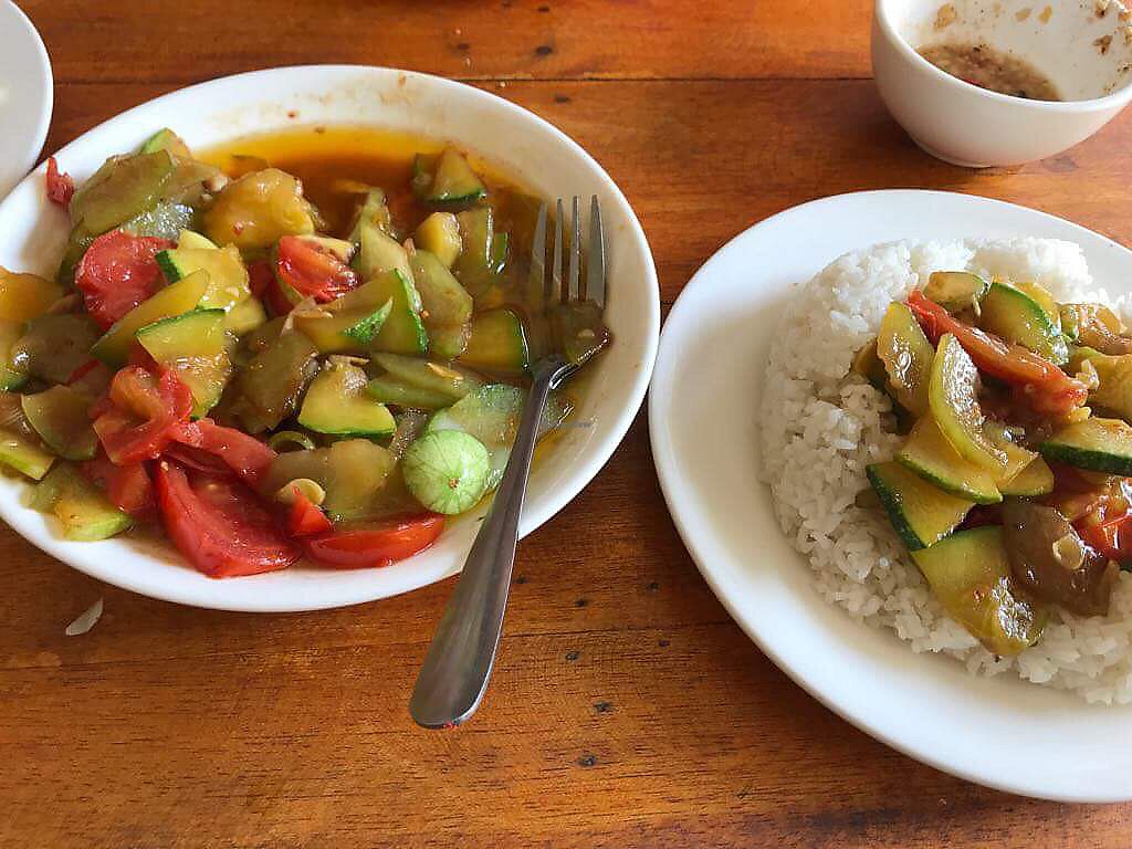 """Photo of Thien Phu Hostel  by <a href=""""/members/profile/AnnaLevshin"""">AnnaLevshin</a> <br/>Garlic vege stir fry that had no garlic in it, was soaked in oil <br/> April 13, 2018  - <a href='/contact/abuse/image/102758/384961'>Report</a>"""