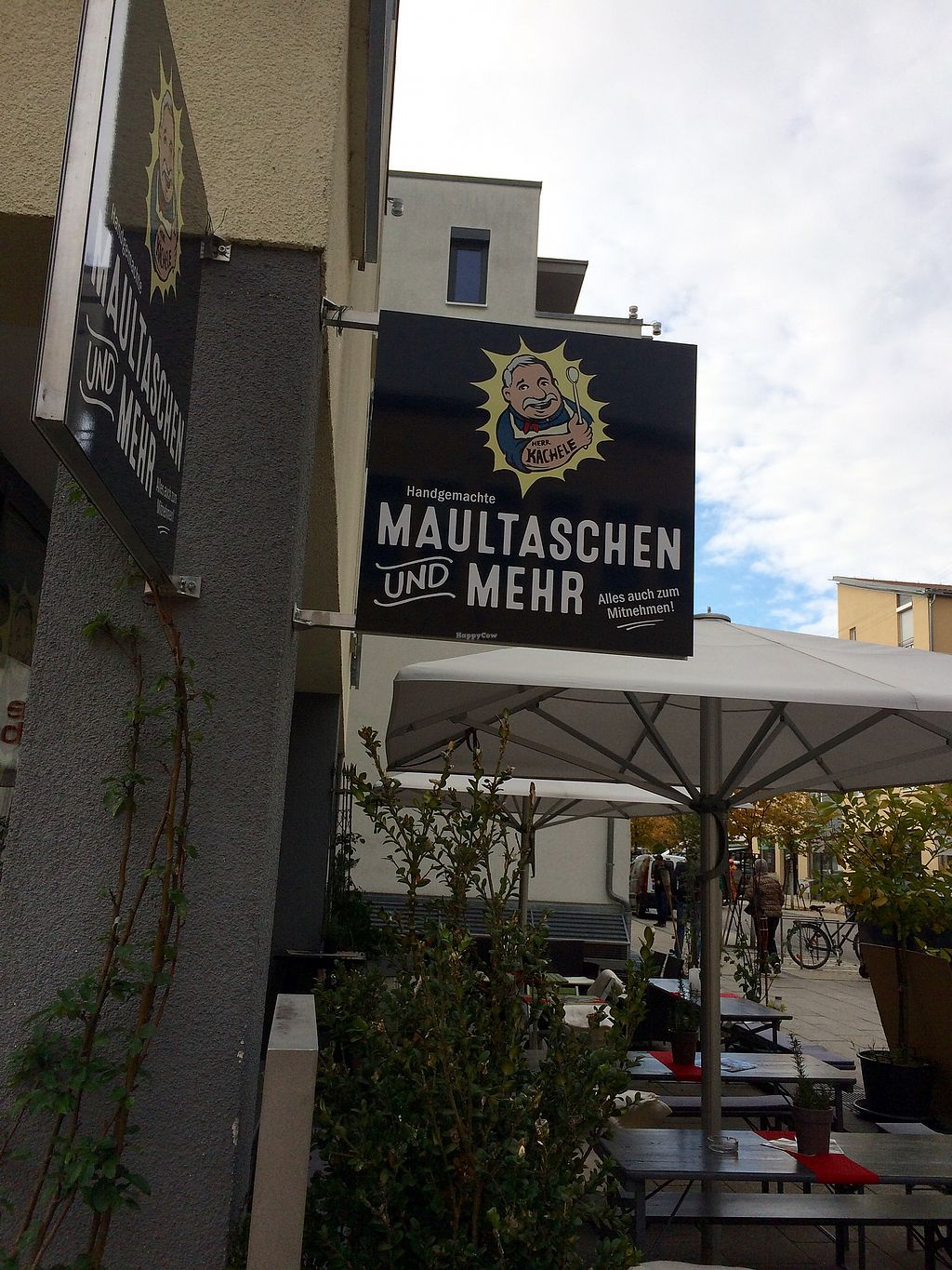 """Photo of Maultaschen und Mehr   by <a href=""""/members/profile/Carissima"""">Carissima</a> <br/>Exterior  <br/> October 12, 2017  - <a href='/contact/abuse/image/102761/314423'>Report</a>"""