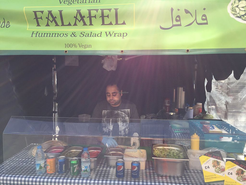 """Photo of Falafel Hummos and Salad Wrap  by <a href=""""/members/profile/DanielBrunt"""">DanielBrunt</a> <br/>Wednesday Lunch time at 12pm  <br/> October 13, 2017  - <a href='/contact/abuse/image/102794/314863'>Report</a>"""